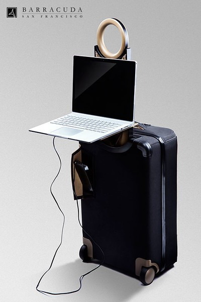 Be the coolest person in the airport with your personal, foldable laptop tray