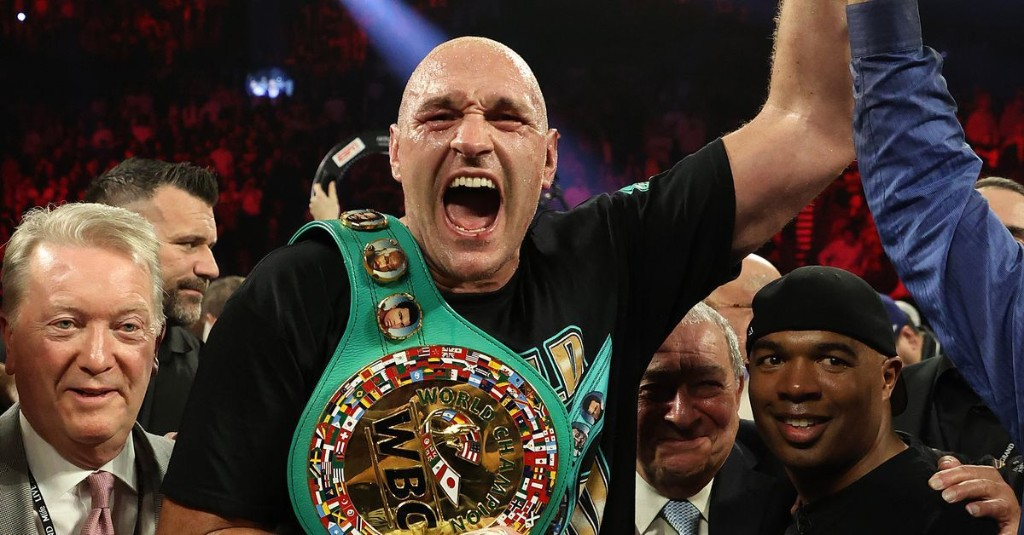 Fury-Joshua: WBC won't stand in way of potential undisputed fight