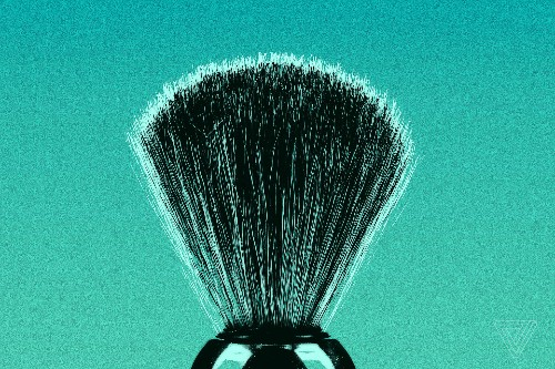 That antique shaving brush could give you face anthrax