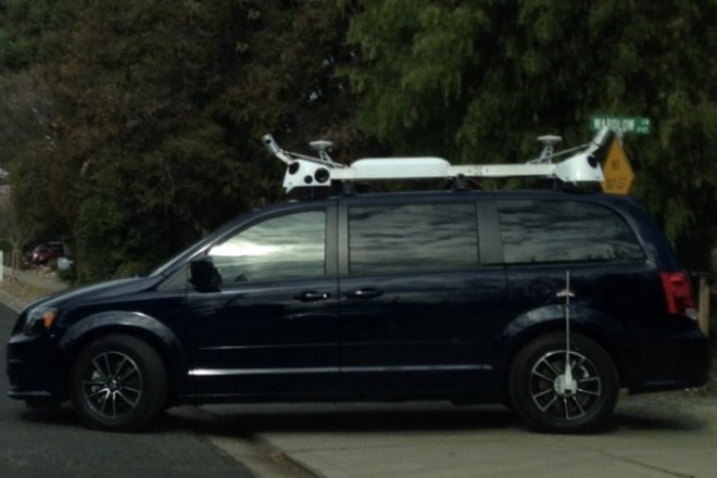Apple testing mysterious cars with roof-mounted cameras