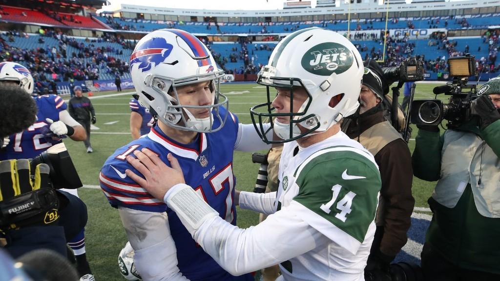 Josh Allen and Sam Darnold continue to teach each other