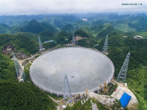 China has built a radio telescope the size of 30 soccer fields to look for aliens