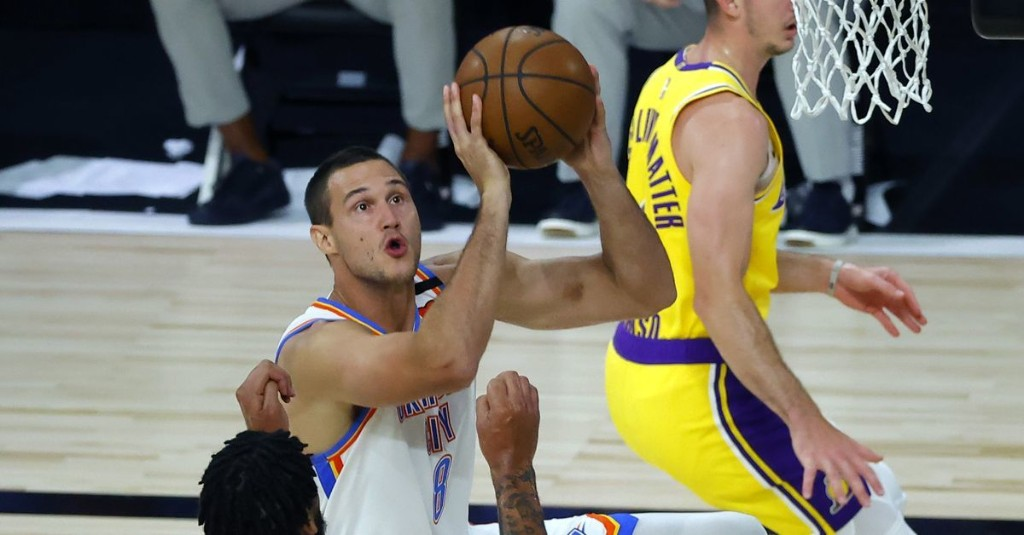Takeaways from the Thunder's 105-86 victory over the Los Angeles Lakers