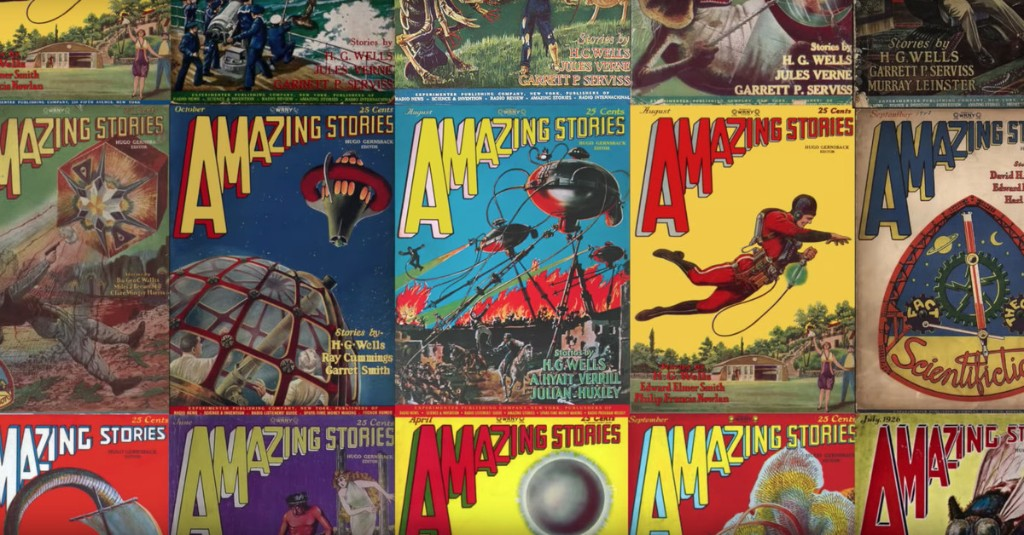 This video shows how surrealist cover art gave us the sci-fi genre we know today