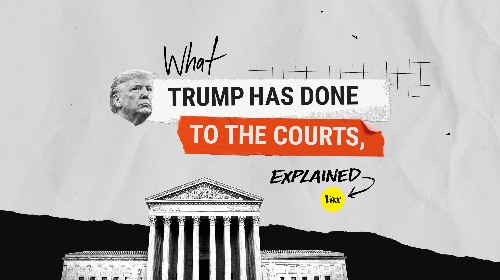 What Trump has done to the courts, explained