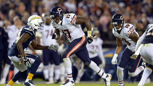 Alshon Jeffery sits out Thursday's practice, fantasy status in question for Sunday