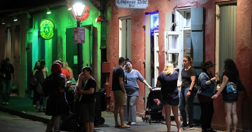 How the Pandemic Put a Lid on New Orleans's Outdoor Drinking Culture