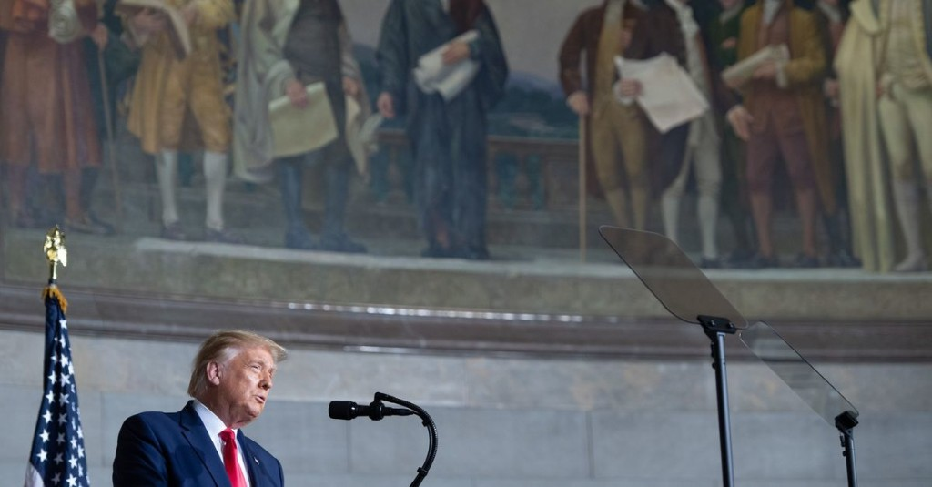 Trump's dark National Archives speech was white resentment run amok