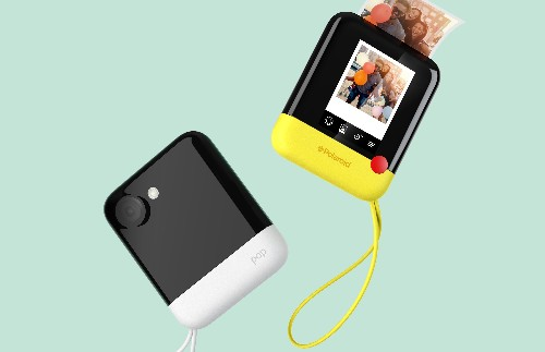 The Polaroid Pop prints 3-inch photos and has a 20-megapixel sensor