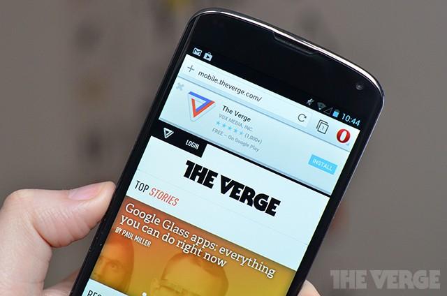 Opera for Android exits beta, ready to take on Chrome