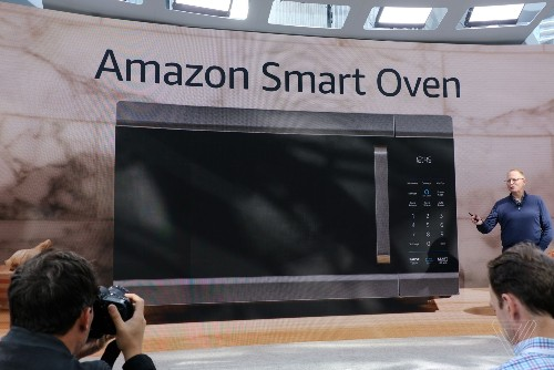 Amazon follows up its Alexa microwave with a new Alexa Smart Oven