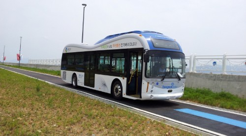 Electric avenue: Korean buses now wirelessly charge as they drive