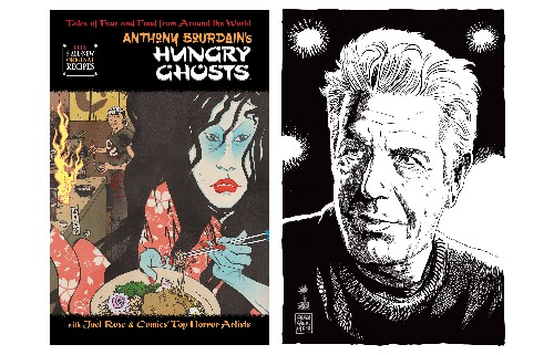 Anthony Bourdain's Graphic Novel 'Hungry Ghosts' Is Being Developed Into an Animated Series