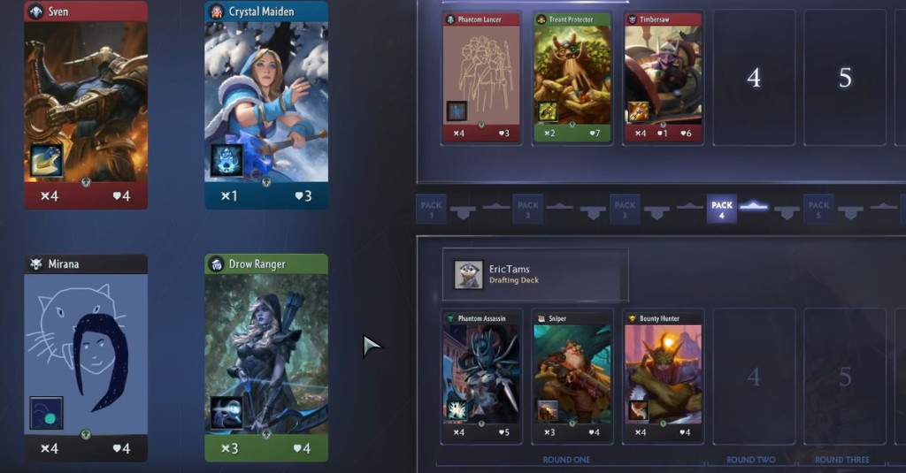 Artifact 2.0's best new feature makes a deck for you