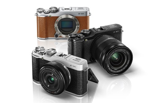 Fujifilm announces the X-M1, its cheapest retro-styled interchangeable lens camera