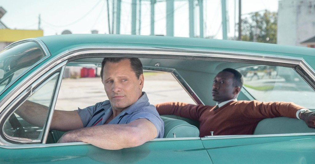 Green Book builds a feel-good comedy atop an artifact of shameful segregation. Yikes.