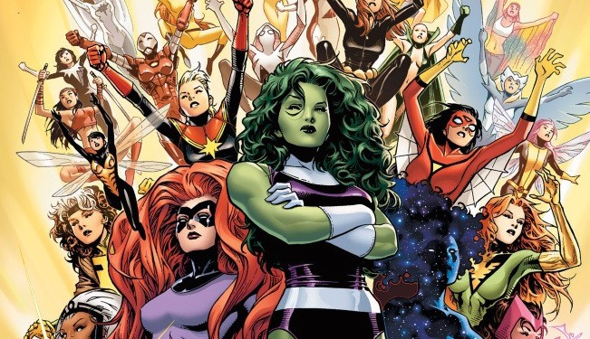 Marvel will assemble an all-female Avengers this spring in A-Force