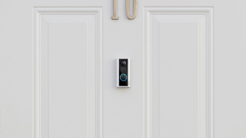 Ring's latest smart doorbell installs on your door's peephole and detects knocks