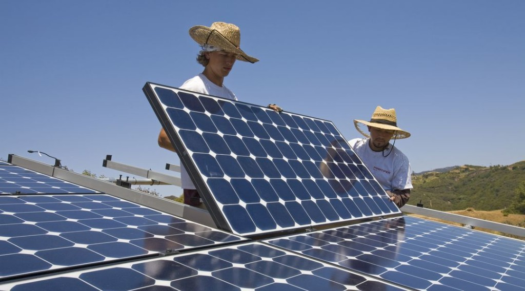 There are now as many solar jobs as coal jobs in the US