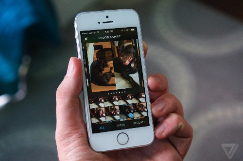 Instagram built a brand-new app to make photo collages