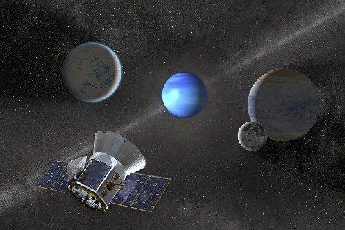 NASA's new planet-hunting spacecraft has found its third distant world