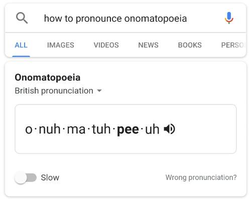 Google tests teaching you word pronunciation