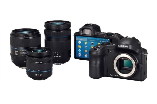 Samsung announces Galaxy NX Android-powered interchangeable lens camera