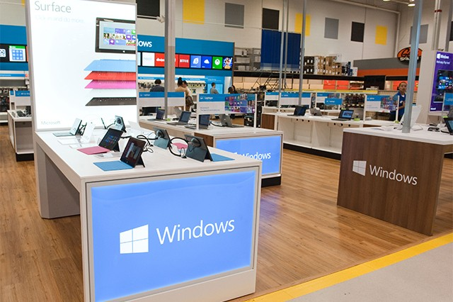 Microsoft and Best Buy team up to create a 'Windows Store' inside 600 retail locations