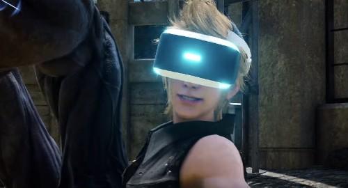The Final Fantasy XV VR experience isn't very Final Fantasy