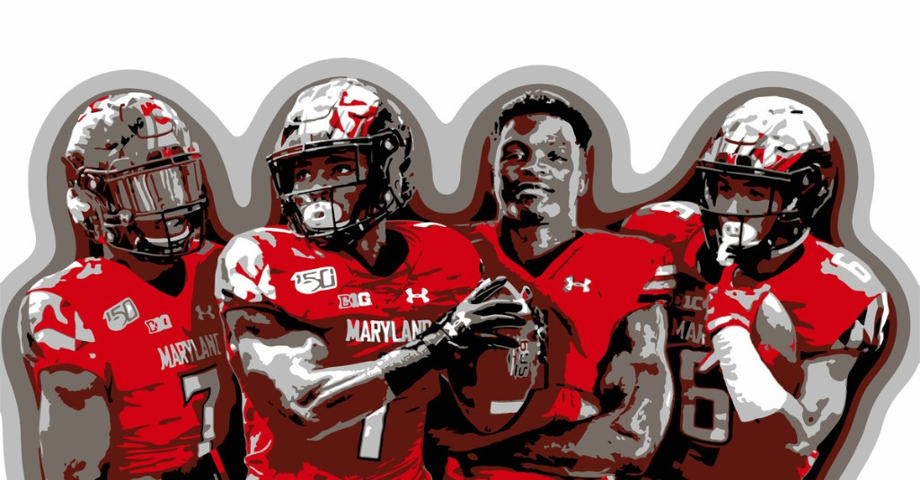 The wide receiver room is primed to be the spotlight of Maryland football's offense in 2020