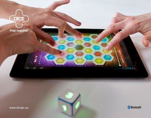 Bluetooth-powered Dice+ now available for digital gaming