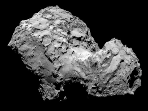 You've never been this close to a comet before
