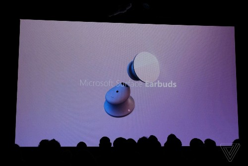 The new Surface Earbuds are Microsoft's first truly wireless earbuds