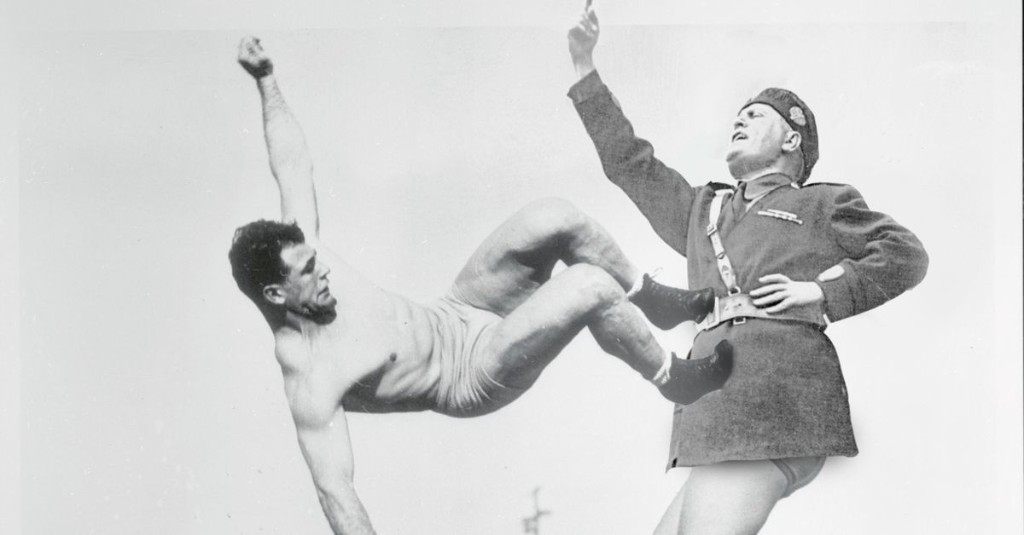 The inventor of dropkicks fought fascists and got kicked out of Notre Dame