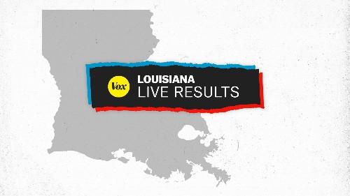 Live results for Louisiana's governor's race: John Bel Edwards vs. Eddie Rispone