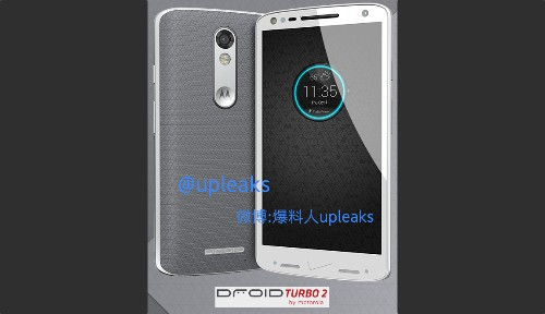 Rumored Droid Turbo 2 photo shows a smartphone ruined by Verizon branding