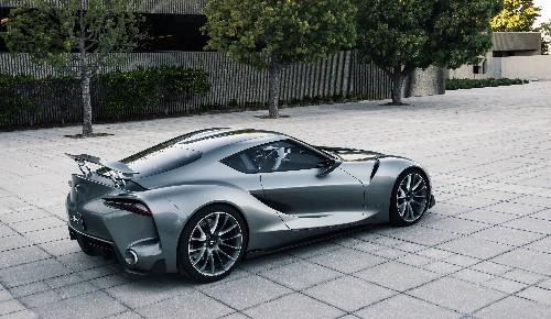Toyota makes another beautiful 'Gran Turismo' supercar