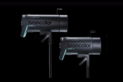 Broncolor announces the Siros L, a fully wireless monolight