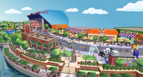 'The Simpsons' area to open at Universal Studios Florida this summer