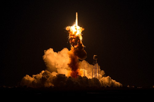 NASA and Orbital don't agree on what caused last year's rocket explosion