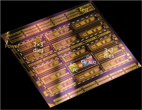 Researchers built a microprocessor with a 2D semiconductor
