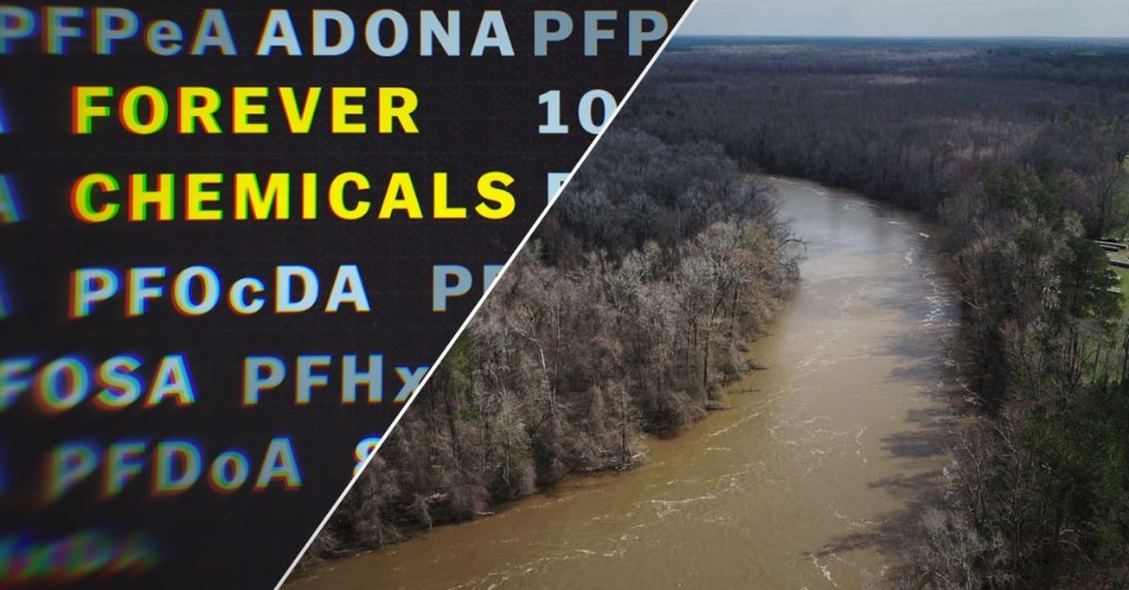 """How """"forever chemicals"""" polluted America's water"""