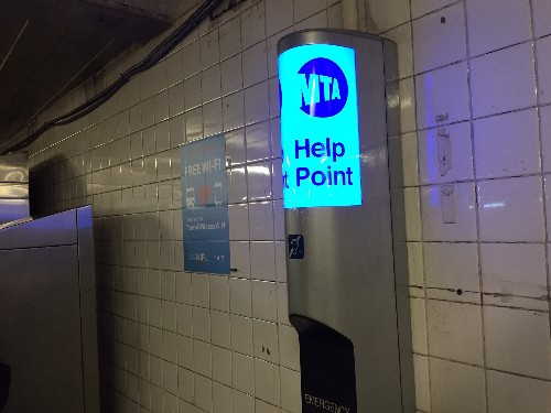 The MTA's Help Point kiosks could be used for surveillance