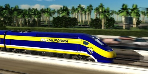 California starts building high-speed rail system between LA and San Francisco