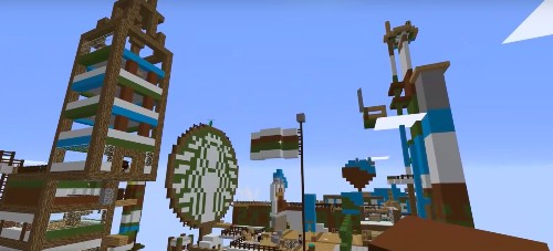 The streamer who built a giant Starbucks island in Minecraft to connect with fans