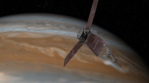 NASA's Juno spacecraft is now in orbit around Jupiter