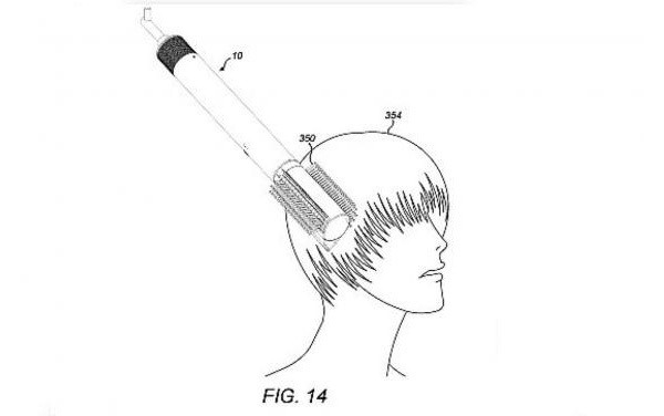 What's better than a 'smart' hairbrush? A supersonic one, according to this Dyson patent