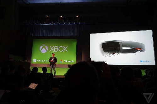 Microsoft is bringing Xbox games to its futuristic HoloLens headset