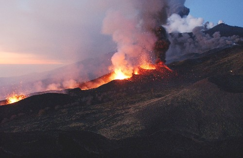 The myth of the 'harmless' volcano and other thoughts on yesterday's Mt. Etna explosion