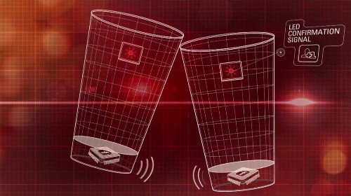 Budweiser cup makes toasting drinkers instant friends on Facebook